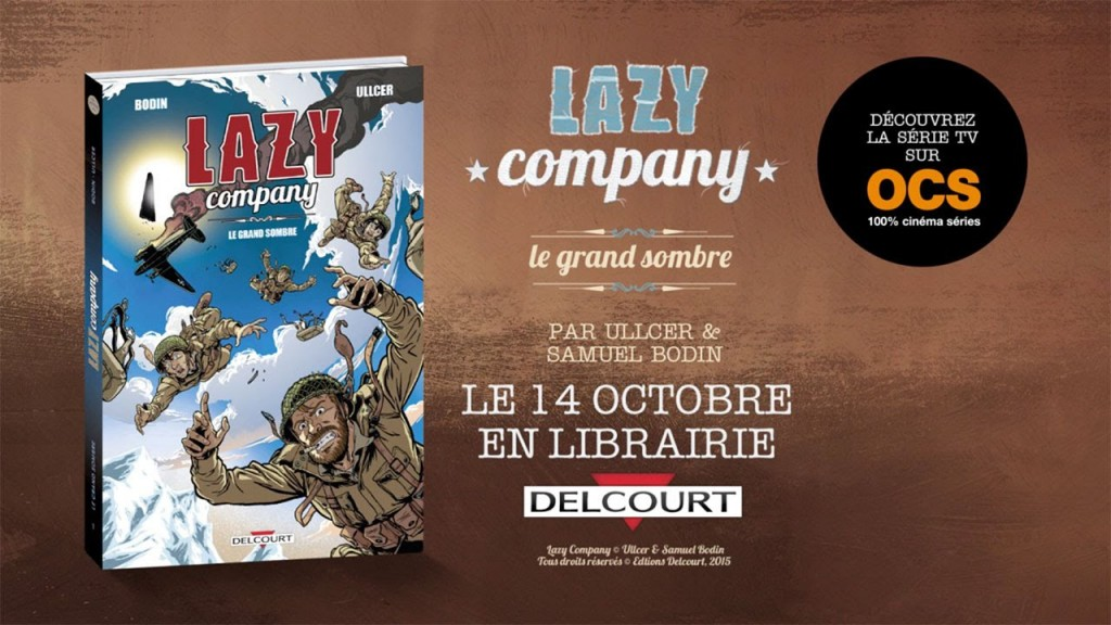 bd lazy company t1 le grand sombre guillaume ghrenassia www.ghrenassia.com