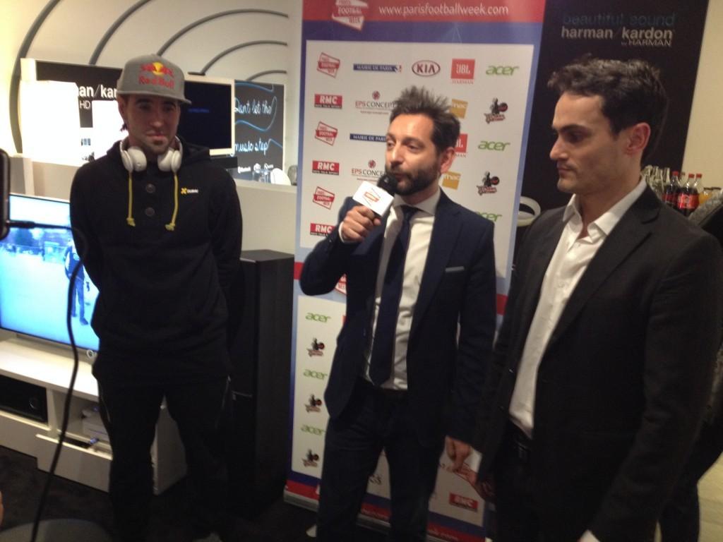 Guillaume Ghrenassia jbl paris football week www.ghrenassia.com (4)